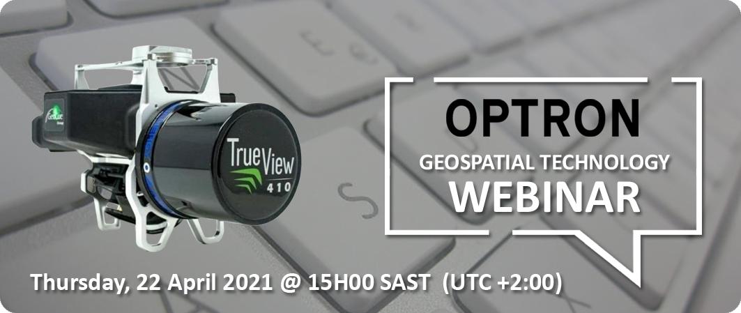 Geospatial Technology Webinar - 22 April 2021