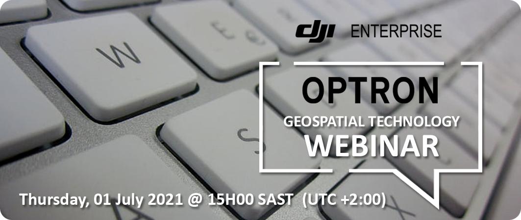 Geospatial Technology Webinar - 01 July 2021